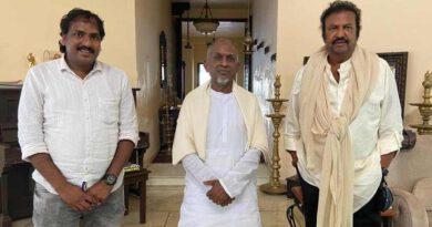 Ilayaraja Remixes Vedanta Desika's Raghuveera Gadhyam For Dr Mohan Babu's Son Of India